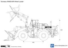 Komatsu WA600-6R Wheel Loader