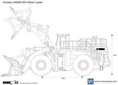 Komatsu WA800-3E0 Wheel Loader