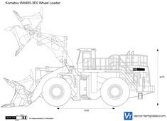 Komatsu WA900-3E0 Wheel Loader
