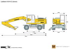 Liebherr A 914 C Litronic Wheeled Excavator