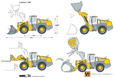 Liebherr L 556 Wheel Loader