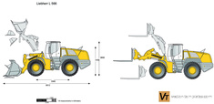 Liebherr L 566 Wheel Loader