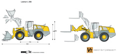 Liebherr L 586 Wheel Loader