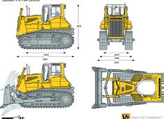 Liebherr PR 764 Litronic Crawler Tractor
