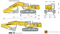 Liebherr R 954 C Litronic Excavator
