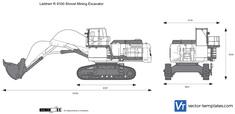 Liebherr R 9100 Shovel Mining Excavator