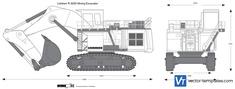 Liebherr R 9250 Mining Excavator