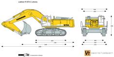Liebherr R 974 C Litronic Excavator