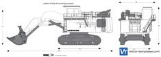 Liebherr R 9350 Shovel Mining Excavator