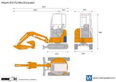 Hitachi EX17U Mini Excavator