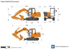 Hitachi ZAXIS 80 Excavator