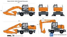 Hitachi ZAXIS 190W Wheeled Excavator