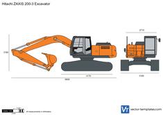 Hitachi ZAXIS 200-3 Excavator
