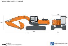 Hitachi ZAXIS 240LC-3 Excavator