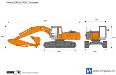 Hitachi ZAXIS 270LC Excavator