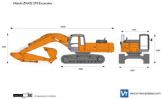 Hitachi ZAXIS 370 Excavator
