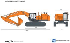 Hitachi ZAXIS 450LC-3 Excavator