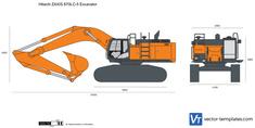 Hitachi ZAXIS 670LC-5 Excavator