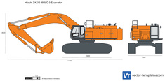 Hitachi ZAXIS 850LC-3 Excavator