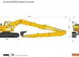 Doosan DX300SLR Hydraulic Excavator