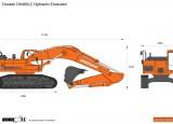 Doosan DX480LC Hydraulic Excavator