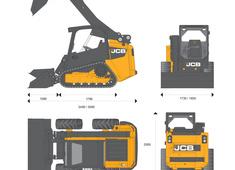 JCB 150T 190T 205T Compact Track Loader
