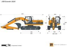 JCB JS220 Excavator