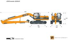 JCB JS220LR Excavator