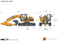 JCB JZ235 Excavator
