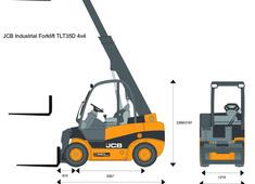 JCB TLT35D 4x4 Industrial Forklift