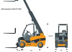JCB TLT35D Industrial Forklift