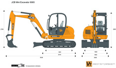 JCB 8065 Mini Excavator