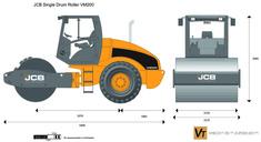 JCB VM200 Single Drum Roller