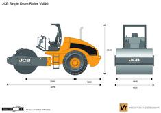 JCB VM46 Single Drum Roller