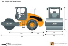 JCB VM75 Single Drum Roller
