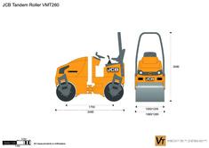 JCB VMT260 Tandem Roller