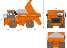 Hitachi EH1100 Dump Truck