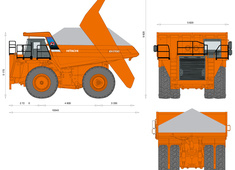 Hitachi EH1700 Dump Truck