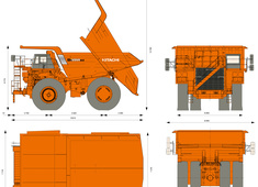 Hitachi EH3500ACII Dump Truck