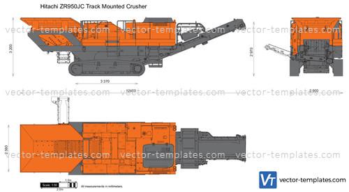 Hitachi ZR950JC Track Mounted Crusher