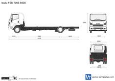 Isuzu FSD 700S 850S