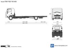 Isuzu FSR FSD 700 850