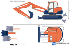Kubota K080S Mini Excavator
