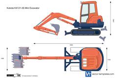 Kubota KX121-3S Mini Excavator