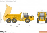 John Deere 300C Articulated Truck