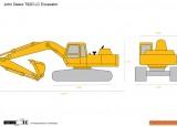 John Deere 792D LC Excavator