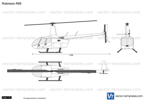 Templates - Helicopters - Helicopters N-Z - Robinson R66