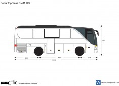Setra TopClass S 411 HD