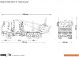 MAZ-641808-221-011 Timber Carrier