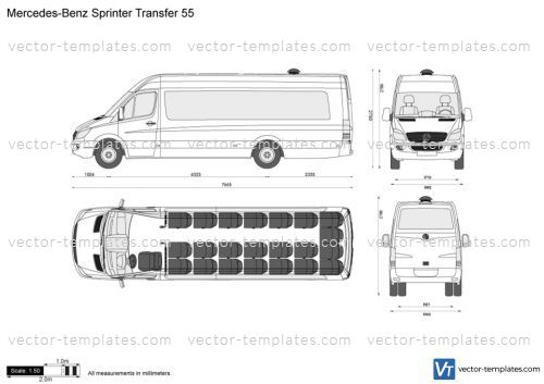 Mercedes-Benz Sprinter Transfer 55